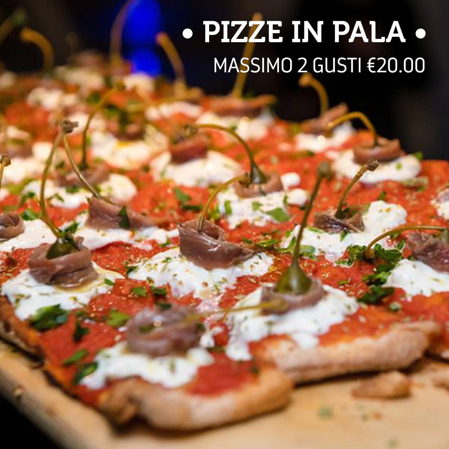 pizze in pala